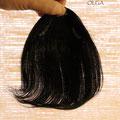 ЧЁЛКА - треугольник, чёрная (натуральные славянские волосы)