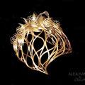 ДИАДЕМА - постиж, золотисто-жемчужный блонд (из натуральных волос)