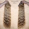 ШИНЬОНЫ-ленты, светло-русые, волнистые (натуральные славянские волосы)