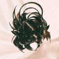 ПУЧОК - постиж, тёмно-коричневый (из натуральных волос)