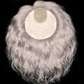 НАКЛАДКА combo mini на заколках - постиж, жемчужно-пепельный блонд (натуральные славянские волосы)