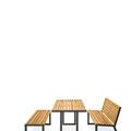 Tisch Bank Kombination Natur DBI-V H24