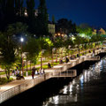 la Promenade illuminée des bords d'Allier