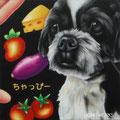 H様 愛犬ちゃっぴーボード(20cmスクエア)