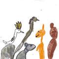 Mouna - Australische Tiere