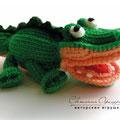 Вязаный крокодил. Автор Офицерова Светлана
