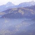 Blick vom Poon Hill auf das Annapurna-Gebirge