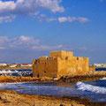 Paphos Castle am Hafen | Foto © Brigitte Berendes