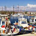 Paphos Hafen | Foto © Brigitte Berendes