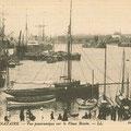 Saint-Nazaire, vue panoramique sur le vieux bassin
