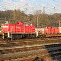 294 im Rangierbahnhof Oberhausen-Osterfeld.