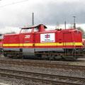 Baureihe 212 der Bocholter Eisenbahn.