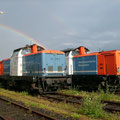 Baureihe 212 der nordbayrischen Eisenbahn.