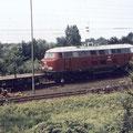 Eine Lollo 216 Vorserie auf dem Weg über den Nordberg.