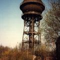 Wasserturm vom Bw 1997.