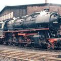 044 556-9 im Bw Duisburg Wedau Mai 1977.