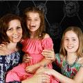 Janine mit Kinder