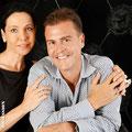 Claudia & Markus mit Trauringen aus der Gotik Kollektion