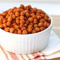 barbecue roasted chickpeas