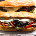 Mushroom Philly Cheesesteak Sandwich Recipe