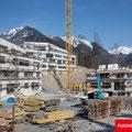 Baufortschritt März 2017