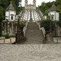 Superbe sanctuaire Bom Jesus à Braga