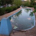 Bassin avec fontaine à Despeñaperros