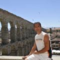 Pose photo: 41 ans aprés ma premiere visite à Salmanca...