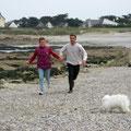 bord de plage bretonne