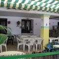 Terrasse d'un bar aux couleurs de l'Andalousie...