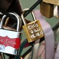 Voici le cadenas de nos amis Christine et Gillou