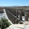 Aqueduc  construit à la fin du premier siècle avant J.C par les Romains