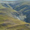 Troupeau de moutons sur les montagnes franco-italiennes...