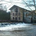 L'ancienne filature de l'usine Depland sur la Glane