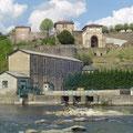 Saint-Amand, l'ancienne minoterie et les vestiges de l'abbaye