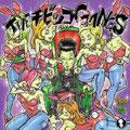 「THEチビッコGANGS」1.T.C.G 2.ワイズメン・ブギー 3.FAT BOY 4.PEACE GARDEN 5.世間知らず 6.キャデラック 7.羽の首飾り