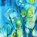 Seifenblasenblume      2014        40x80             Acryl auf Lwd.