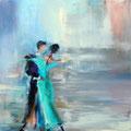 Tanzpaar           2013     80x80       Acryl auf Lwd.