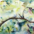Magnolie            2014               120x100         Acryl auf Lwd.