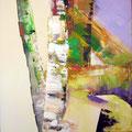 Birke                       2010           100x100          Acryl auf Lwd.