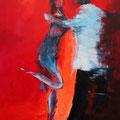 Let´s dance                 2012      90x110     Acryl auf Lwd.