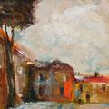Begegnung in Avignon  2         2008    30x30      Acryl auf Lwd.