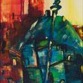 Warschau Altstadt                       2007       40x80              Acryl auf Lwd.