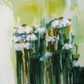 Gänseblümchen        2012         100x100         Acryl auf Lwd.