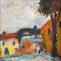 Begegnung in Avignon  1              2008       30x30              Acryl auf Lwd.