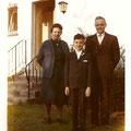 Friedrich und Maria Kühn mit Enkel 1960