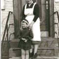 Genoveva Nägele mit Tochter Annemarie
