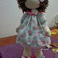 выкройка большеногой куклы.