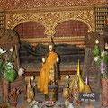 Liegender Buddha,  Vat Xienthong, Luang Prabang