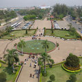Blick vom Patu Xai, Vientiane